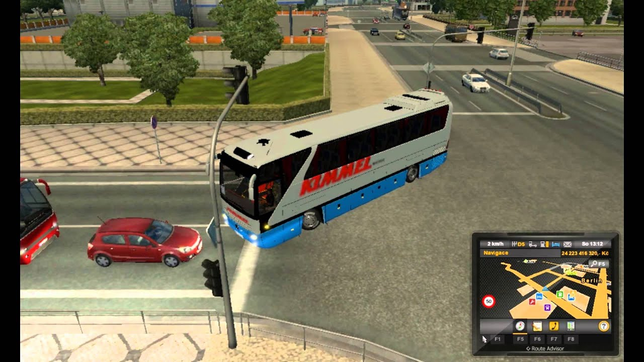 [ETS2]Euro Truck Simulator 2 Bus Passenger Transport and Terminal Mode by  Alex Tikhonov