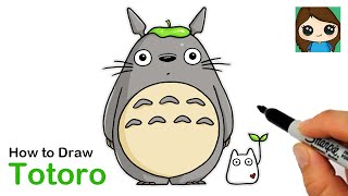 How to Draw Totoro  My Neighbor Totoro
