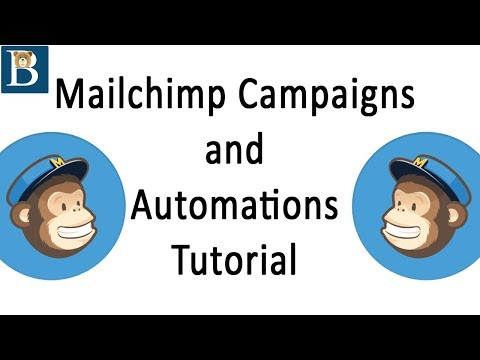 FULL Mailchimp Campaigns and Automations Tutorial   UPDATED