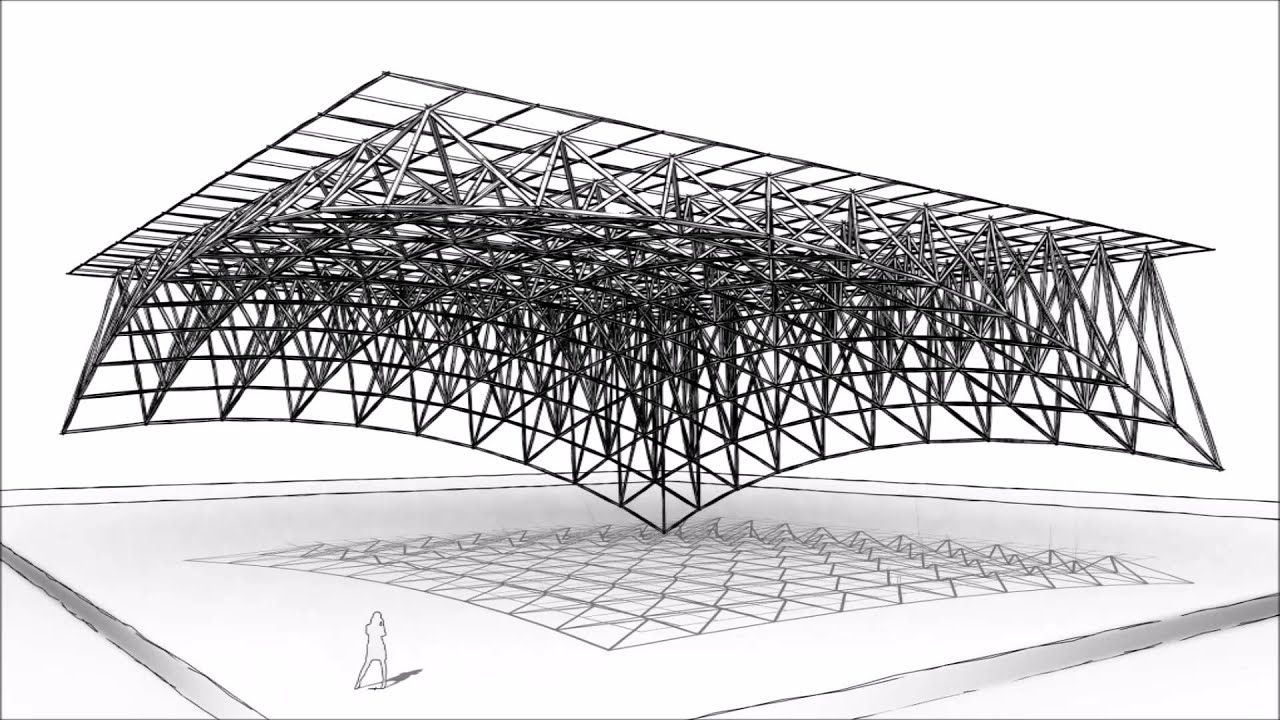 Space Frame Conceptual Model animated with Image-O-Matic from Boost ...