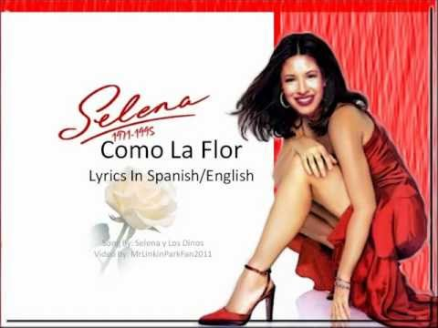 Selena - Como La Flor (Lyric Video) [With English Lyrics]