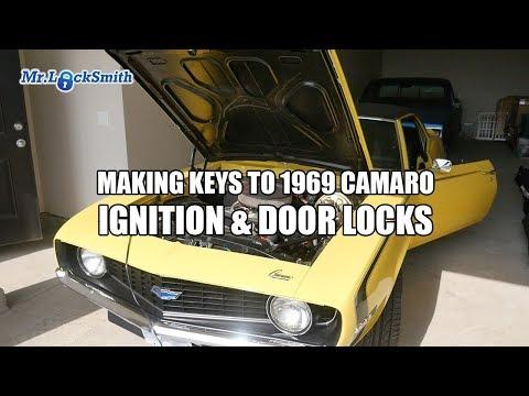 Making Keys To 1969 Camaro Ignition & Door Locks   Mr. Locksmith™ Video