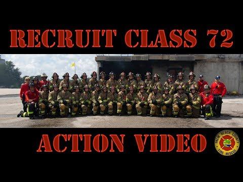 Recruit Class 72 Action Video