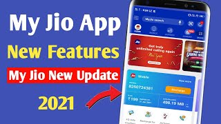 My Jio App New Feature | My Jio App New Update 2021 screenshot 2