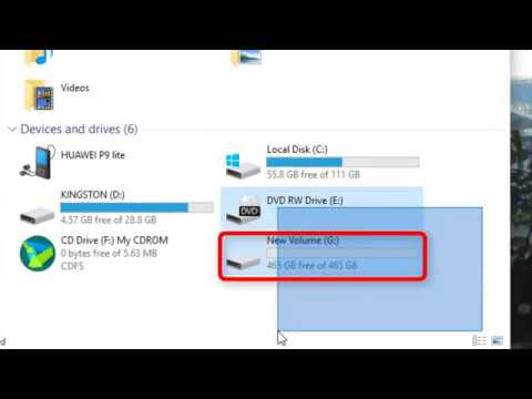 How to initialize and format a new HDD or SSD in Windows 10