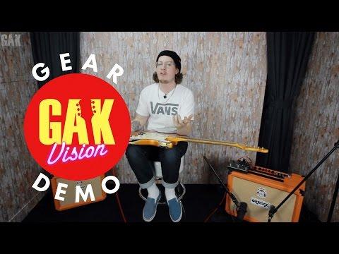 GAK DEMO : Brand New 2017 Orange Rocker 32 Guitar Combo Amp