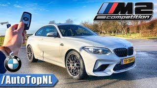 BMW M2 COMPETITION 2019 REVIEW POV Test Drive on AUTOBAHN & ROAD by AutoTopNL