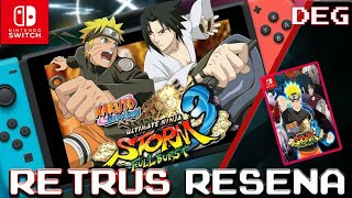 Naruto Shippuden Ultimate Ninja Storm 3 Full burst Analisis/Reseña Nintendo switch by deg