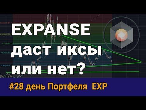 Криптовалюта Expanse (exp) - даст иксы или нет? День 28