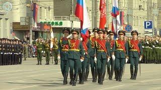Парад Победы в Новосибирске | 9 мая 2018 года