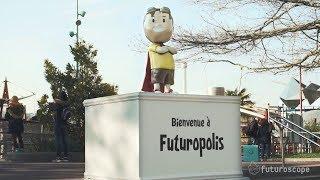 L'inauguration de Futuropolis, la ville des enfants du Futuroscope