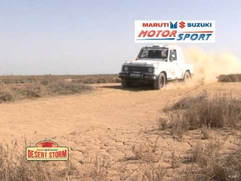Maruti Suzuki Desert Storm - Desert Gypsies!