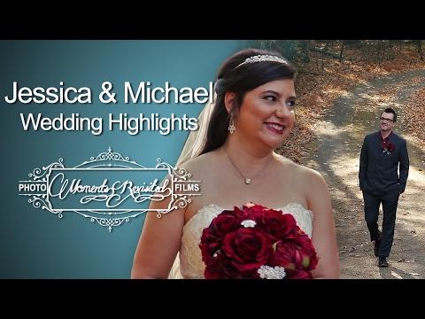 {jessica-❤-michael}---wedding-highlights---forrest-hills-mtn-resort-in-dahlonega,-ga