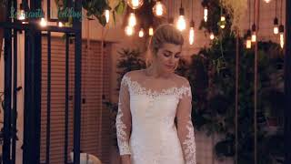 ДВА СВАДЕБНЫХ ПЛАТЬЯ В ОДНОМ! ЛЕГКО! Свадебное платье двойное атласное и кружевное