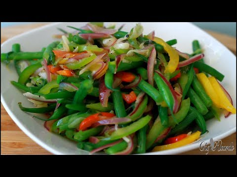 amazing recipe - green bean FRY UP WITHE BUTTER !!
