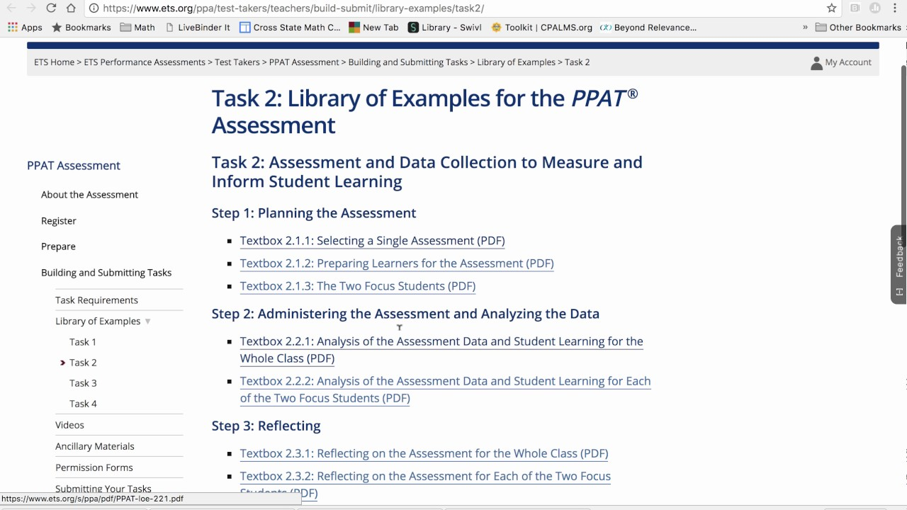 Ppat Task 2 Library Of Examples Youtube