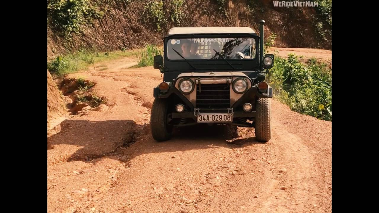 Vietnam Jeep Tour We Ride Vietnam Youtube