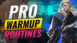 PRO Aim Routines To Get GOD AIM FAST - Valorant