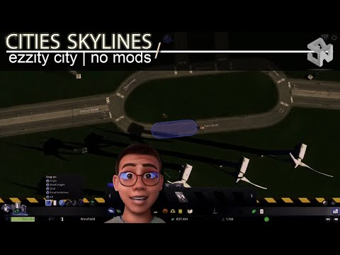 Roundabout 0; Let's Play Cities Skylines; GAMING |