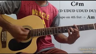 Aadat (Atif Aslam) - Guitar Lesson+Cover, Chords+Lead, Strumming Pattern, Progressions
