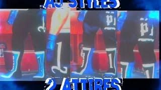 aj styles bonus 2 attires caw formula svr 11 ps2