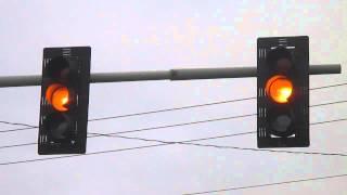 Flashing Siemens Traffic Lights