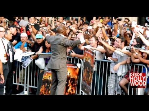 Terry Crews: The Expendables 2 Red Carpet Hollywood Premiere (Los Indestructibles/Mercenarios 2)