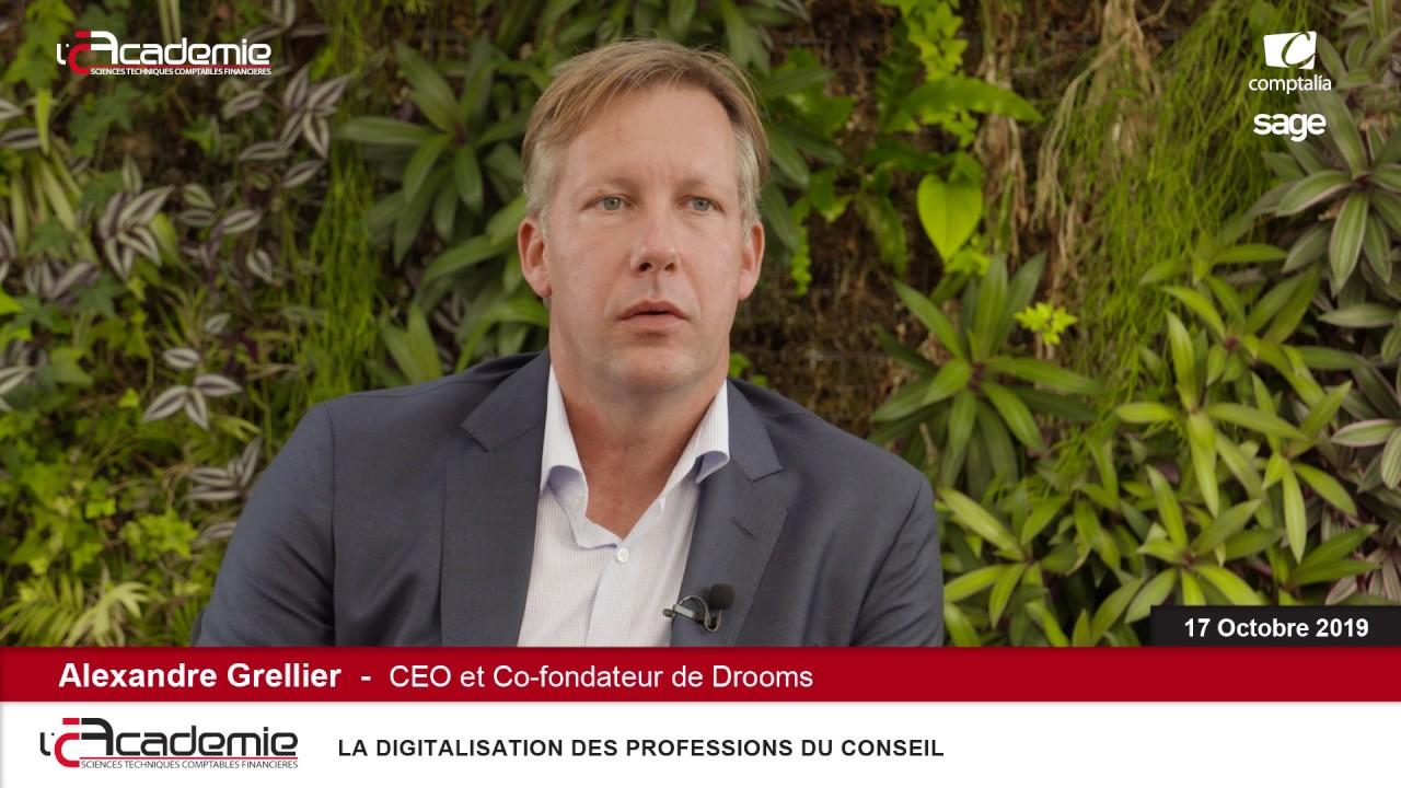 Les Entretiens de l'Académie : Alexandre Grellier
