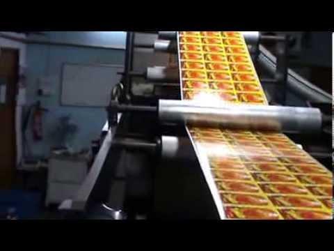 J D Printers - Multi Color Printing + Varnishing on Self Adhesive Paper Label - Branding Label