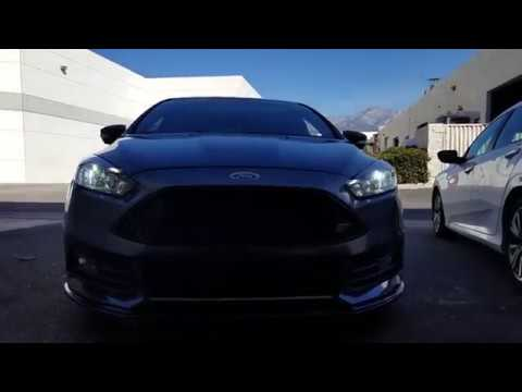 2017 Ford Focus St How To Install Led Headlight Low Beam La Series H11 Bulbs