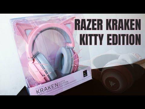 [ UNBOXING + LIGHTING FEATURE ] - RAZER KRAKEN KITTY EDITION