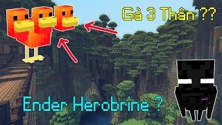 Top 5 Khả Năng Đặc Biệt Bá Đạo Của Những Con Mobs Trong Minecraft - Gà 3 Thân ???