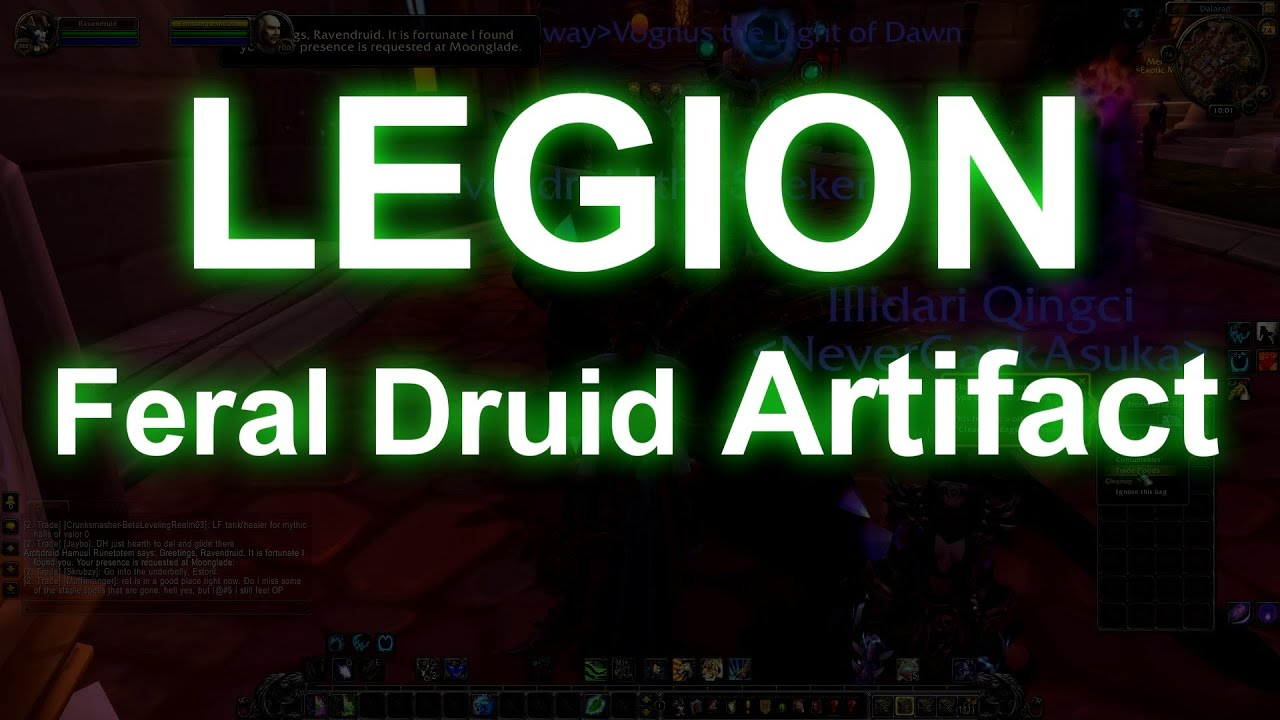 how to get artifact weapon druid