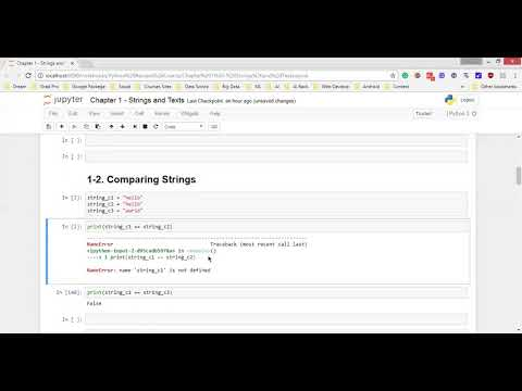 02 - Ch1 - Concatenating , Comparing and Searching in Strings