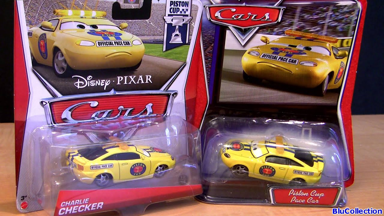 New Cars Charlie Checker Diecast Yellow N Red Tail Lights