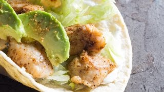 Creole Catfish Tacos recipe by SAM THE COOKING GUY