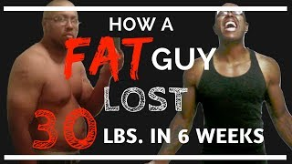How A FAT GUY Lost 30 lbs. in 6 Weeks | KETOGENIC DIET RESULTS Before and After Pics