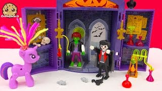 Playmobil Vampire Haunted Lab Playset with My Little Pony Twilight Sparkle - Cookieswirlc Video