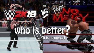WWE 2K18 vs WWF No Mercy - Which is Best? (It's No Mercy)