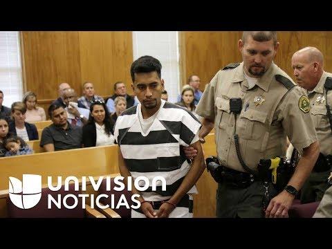 Primeras imágenes en corte de Cristhian Bahena, inmigrante acusado de asesinar a Mollie Tibbetts