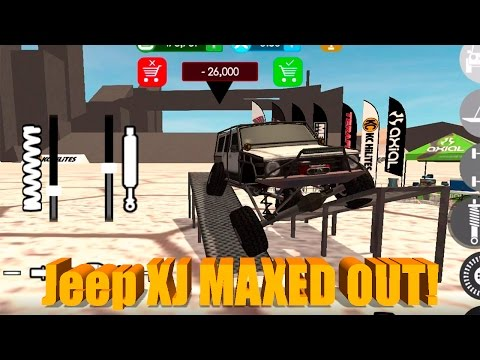 Gigabit Off-Road   MAXED OUT Jeep XJ!   ROCK CRAWLING   NEW WORLD!