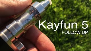 kayfun v5 followup review clapton coil build
