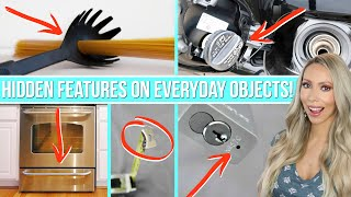 17 HIDDEN FEATURES ON EVERYDAY OBJECTS THAT WILL BLOW YOUR MIND 2!