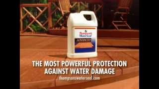 Deck Waterproofing | Keep Moisture Out With Thompson's Waterseal