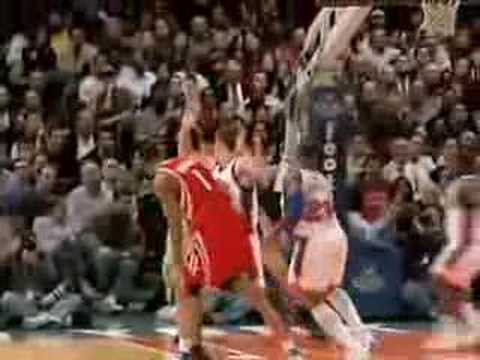 Nate Robinson Dunk On Yao Ming Yao ming gets stuffed by nate robinson    Yao Ming And Nate Robinson