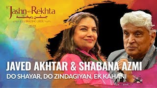 Jan Nisar Akhtar & Kaifi Azmi : Do Shayar, Do Zindagiyan, Ek Kahani | 5th Jashn-e-Rekhta 2018