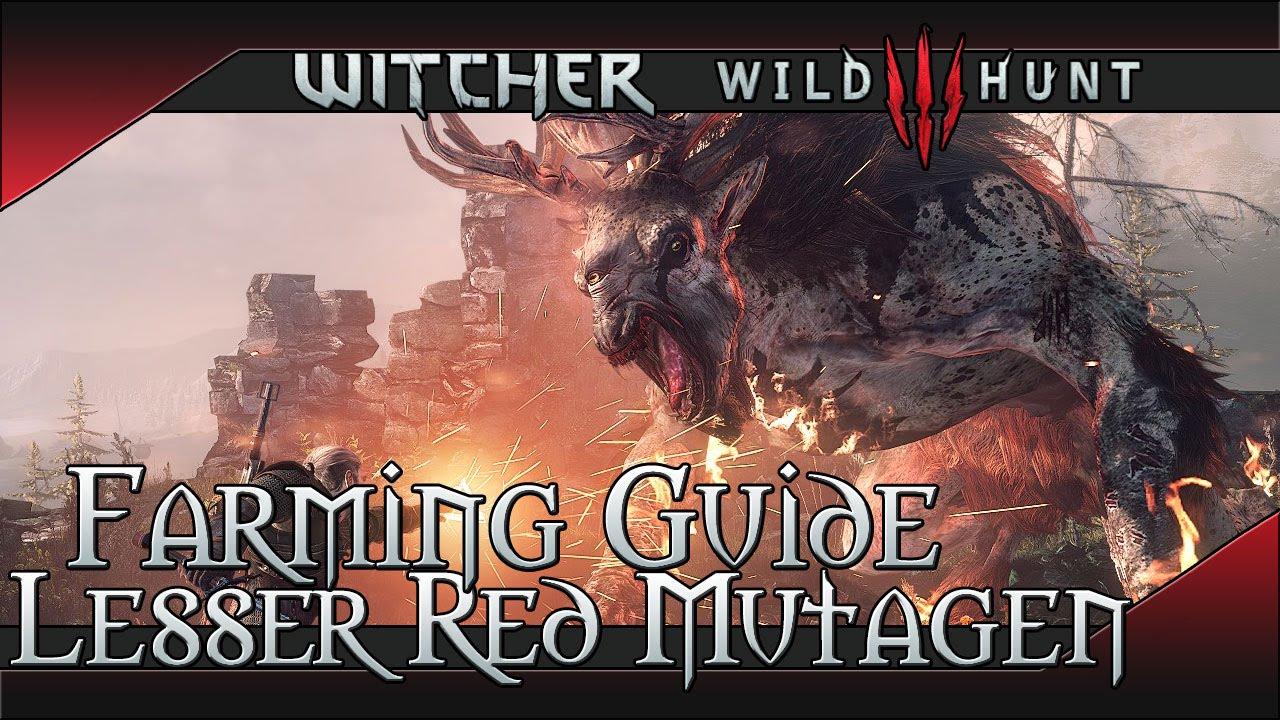 Witcher 3 Rote Mutagene