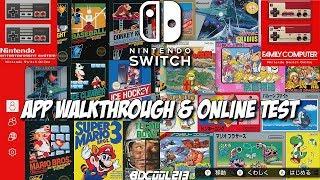 Nintendo Entertainment System & Famicom Nintendo Switch Online App Walkthrough - Online Test