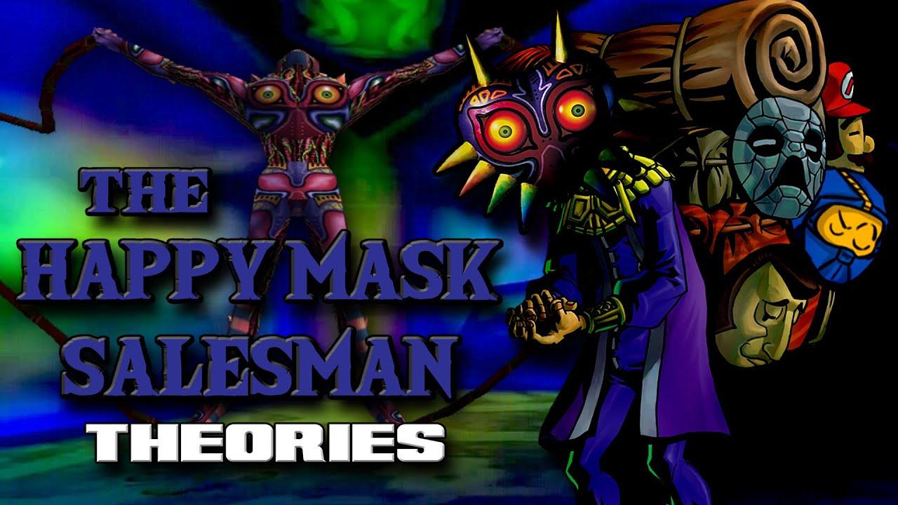 Download WHO is THE HAPPY MASK SALESMAN?   The Legend of Zelda: Majora's Mask Theories