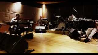"Agnes Monica band rehearse Godai Aku Lagi  for ""Make It Happen"" 2012"
